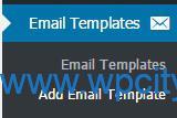 ساخت قالب ایمیل در ووکامرس